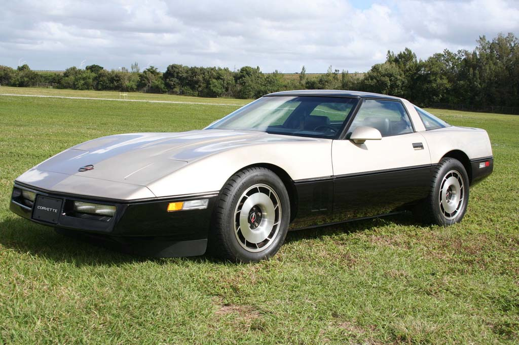 Corvettes on eBay: Rare Malcom Konner Edition 1986 Corvette