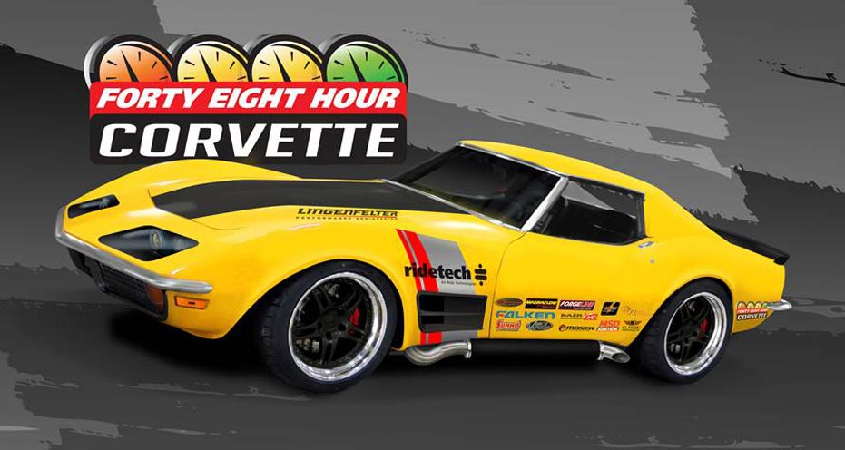 The Ridetech 1972 Corvette Coupe: From Stock to Fire-Breathing Restomod in 48 Hours