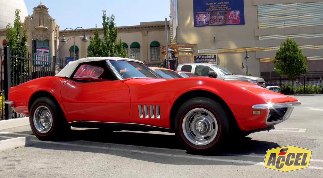 [VIDEO] 1968 Corvette Gets an ACCEL IT Upgrade at Hot Reno Nights
