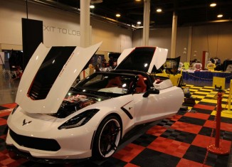 [PICS] This Corvette Stingray with a Steampunk Engine Bay is a Real Time Traveler