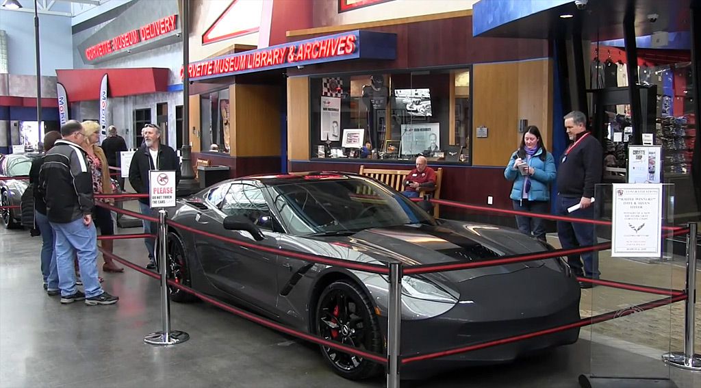 [VIDEO] The National Corvette Museum Celebrates Milestone 10,000th R8C Corvette Delivery