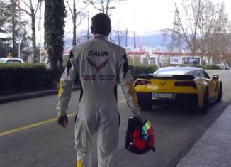 [VIDEO] Corvette Racing's Oliver Gavin Leaves Geneva – One Step Closer to Le Mans