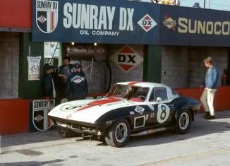 1967 GT Class-Winning Corvette Returns to 2015 Sebring in Gallery of Legends Display