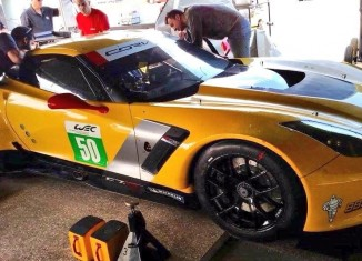 Larbre Competition Readies First Privateer Corvette C7.R at Sebring