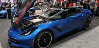 Corvettes on eBay: Supercharged 2014 Corvette Stingray Premiere Edition SEMA Concept