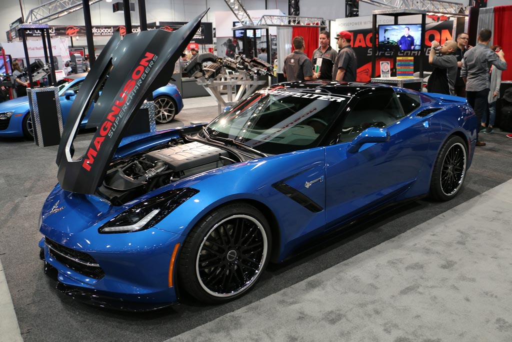 Corvettes on eBay: Supercharged 2014 Corvette Stingray Premiere Edition SEMA Concept