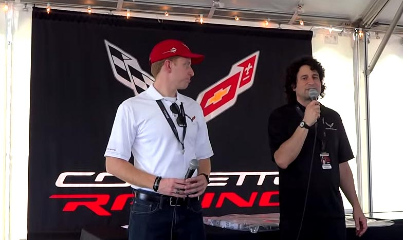 [VIDEO] Corvette Product Manager Harlan Charles Shares Facts about the 2015 Corvette at Sebring