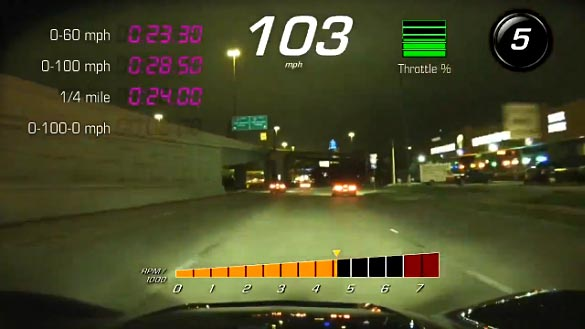 [VIDEO] Sheriff's Undercover Corvette Stingray with PDR Helps Bust Street Racers in Texas