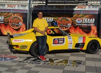 Ridetech's 48 Hour Corvette Dominates Optima Ultimate Street Car Event in Texas