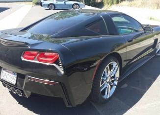 C5 Corvette Receives a Rear Fascia Transplant from a C7 Corvette Stingray