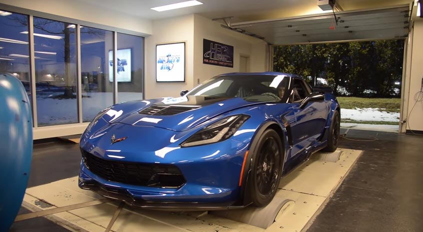 [VIDEO] A 2015 Corvette Z06 Visits Smokey's Dyno