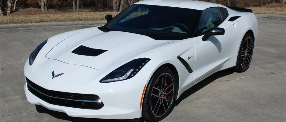 in Dale Jr.'s 2015 Corvette Stingray