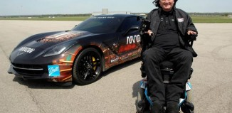 Quadriplegic Racer to Drive Semi-Autonomous Corvette on Long Beach Grand Prix Course