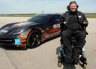 Quadriplegic Racer to Drive Semi-Autonomous Corvette on Long Beach Grand Prix Course