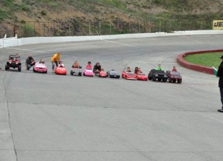 These Kid Racers in their Power Wheels is the Funniest Video You Will See All Day