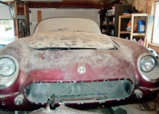 They're Still Out There – 1954 Corvette Garage Find