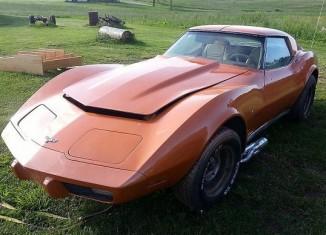 [STOLEN] Family's 1977 Corvette Stolen from Private Garage in Maryland