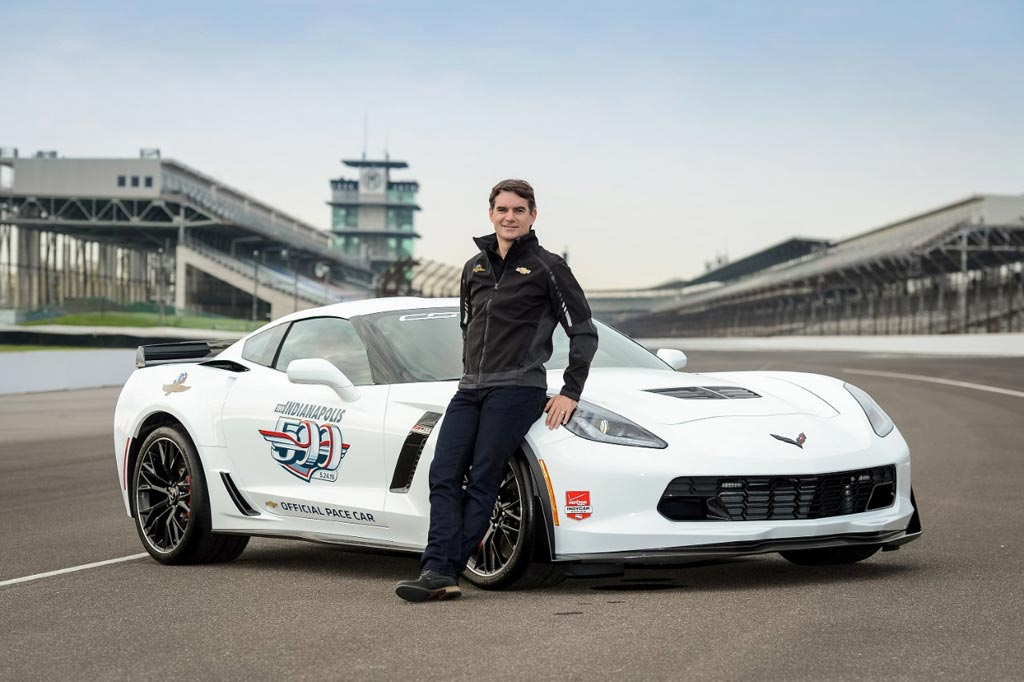 [VIDEO] Jeff Gordon to Drive the Corvette Z06 Indy 500 Pace Car