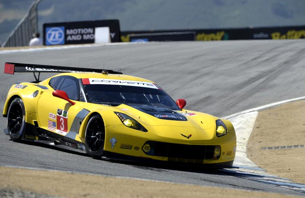 Corvette Racing at Laguna Seca: Milner Qualifies P4 While Engine Problem Hits No.3 C7.R