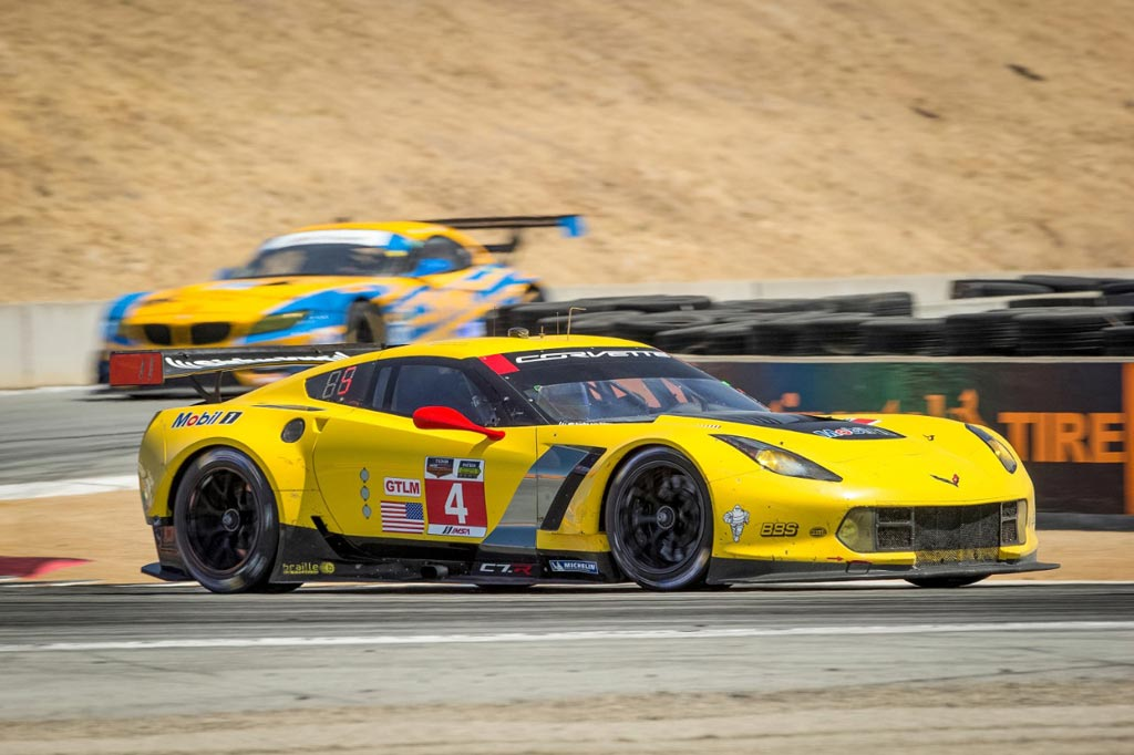 Corvette Racing at Laguna Seca: Disappointing 6th and 7th Place Finish for Corvette C7.Rs