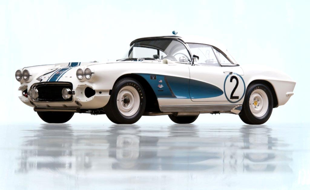 1962 Gulf Oil Corvette Race Car Sells for $1.65 Million at RM Sotheby's
