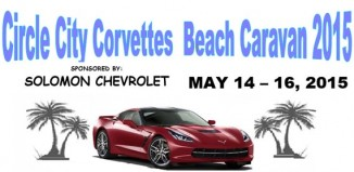 Circle City Corvettes Hosting Annual Beach Caravan 2015 on May 14-16th