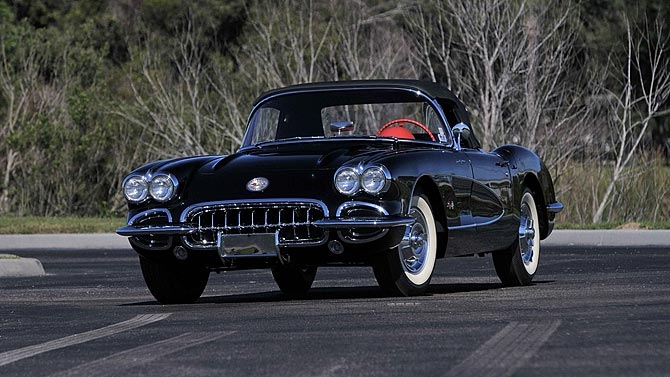 1958 Corvette Fuelie Collection Heading to Mecum Indy