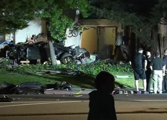 [VIDEO] Corvette Stingray Driver Kills a California Mother and Infant in DUI Crash