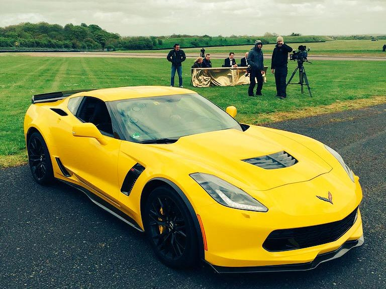 Jeremy Clarkson Reviews the 2015 Corvette Z06 (and Hates It)