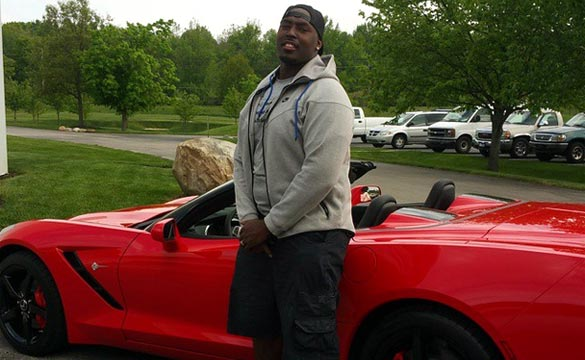[PIC] NFL Colts DE Arthur Jones to Return his New Corvette Stingray to the Dealer