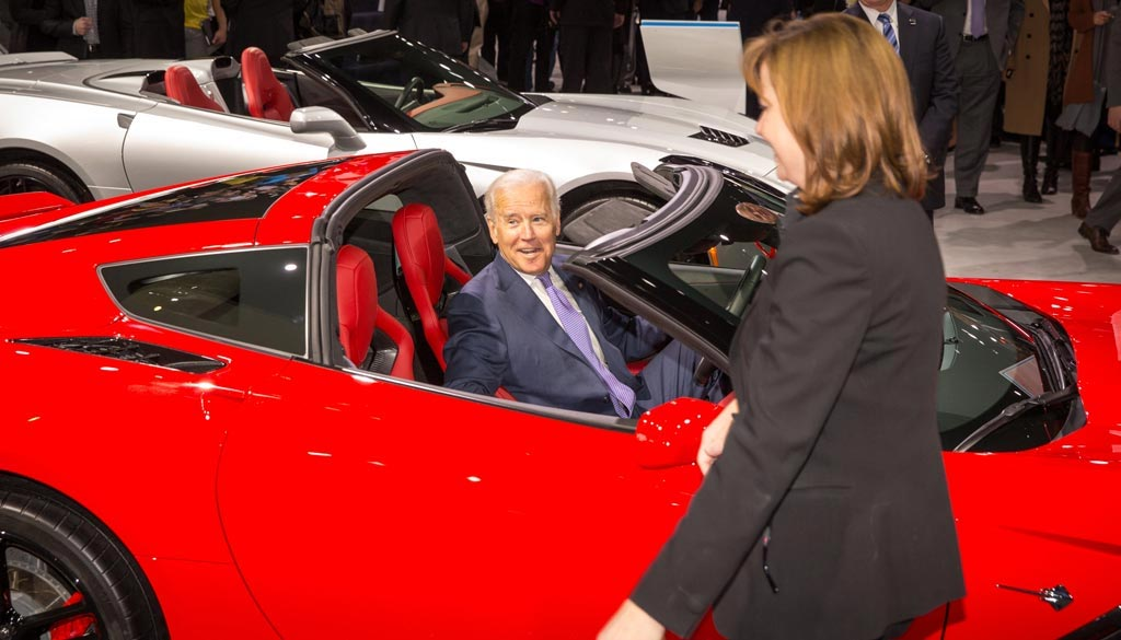 Joe Biden: Corvettes are Better than Porsches