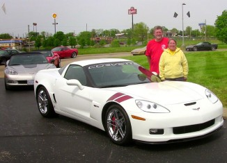 Couple Donates 2007 Ron Fellows Edition Corvette Z06 to the National Corvette Museum