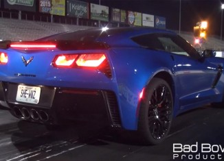 [VIDEO] Watch this Lady-Driven Corvette Z06 Hit the 10s at the Dragstrip