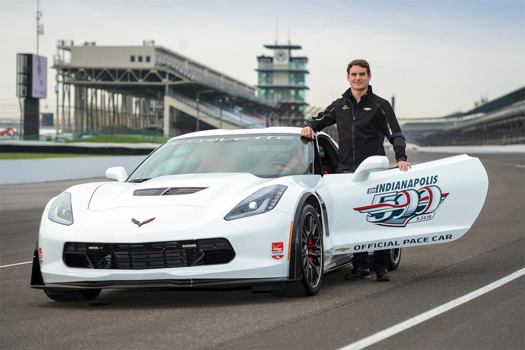 [VIDEO] Jeff Gordon Drives the 2015 Corvette Z06 Indy 500 Pace Car
