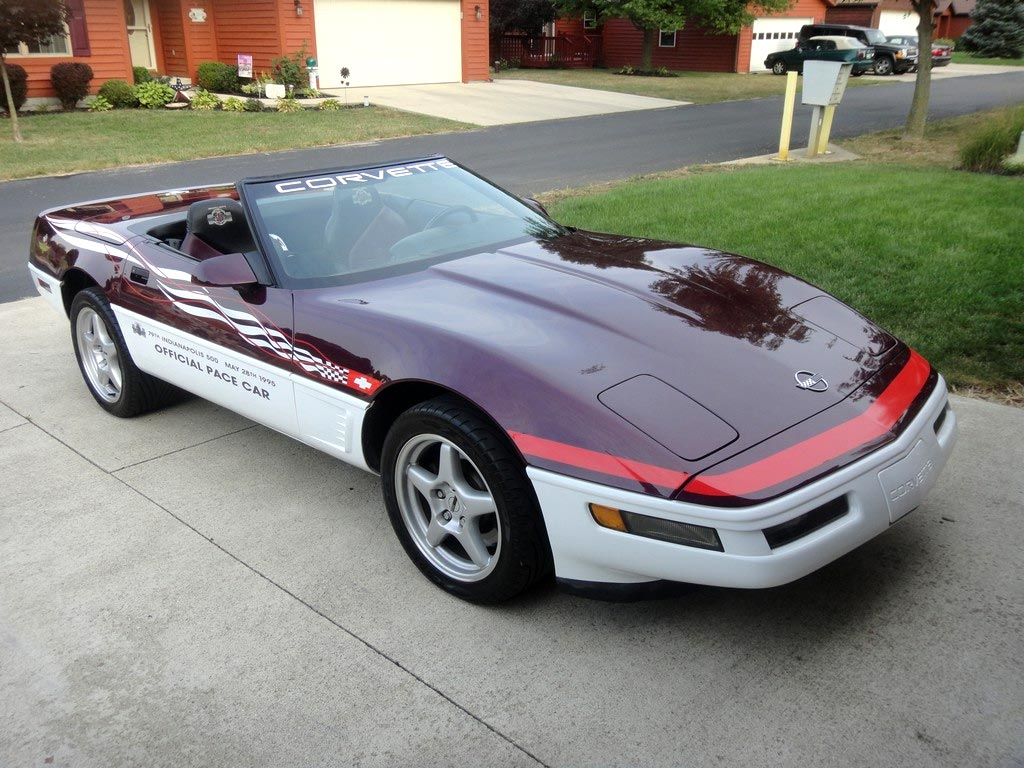 Collectible Corvettes: 1995 Indy 500 Corvette Pace Car