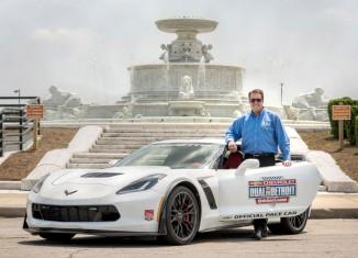 GM's Mark Reuss to Pilot the Corvette Z06 Pace Car at Belle Isle