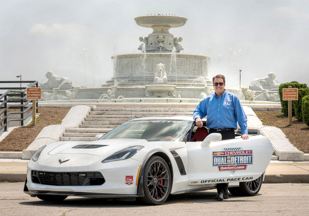 GM's Mark Reuss to Pilot the Corvette Z06 Pace Car at Belle Isle