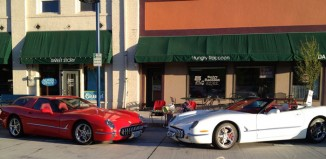 Corvettes on eBay: Pair of Retro Corvettes