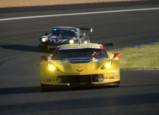 Corvette Racing at Le Mans: Plenty of Work and Rain on Test Day