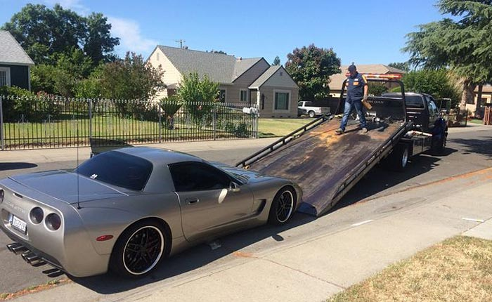 Police in Stockton Impound a C5 Corvette Involved in Sideshows and a High-speed Chase