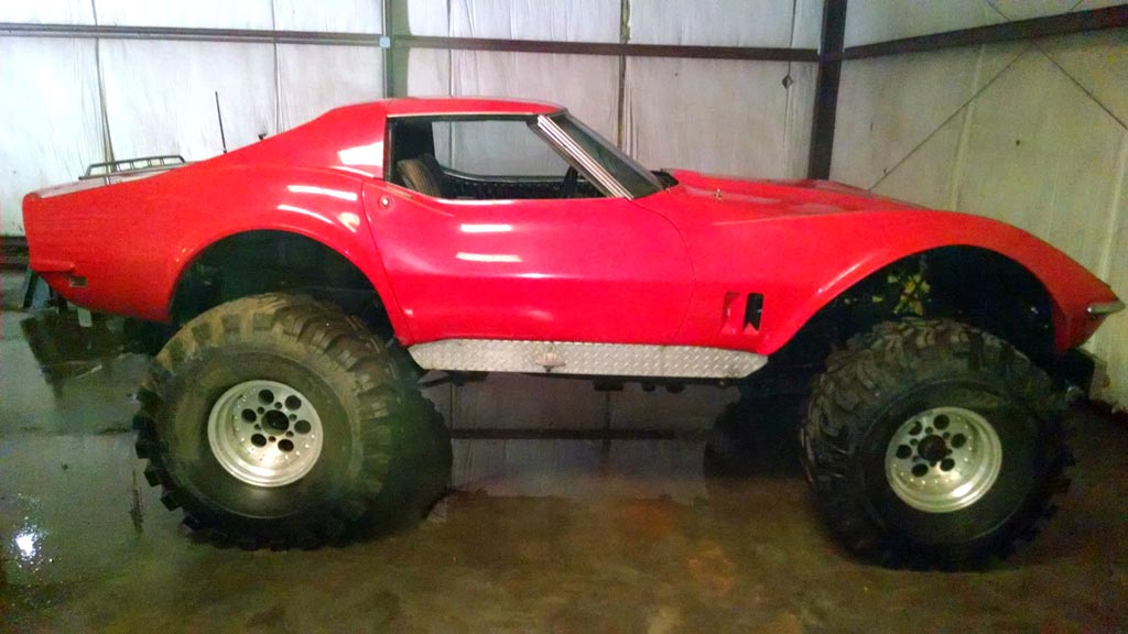 Corvettes on eBay: 1968 Monster Corvette 4x4
