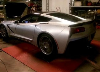 [VIDEO] Corvette Stingray Built By Cordes performance Racing Shows 635 HP on the Dyno