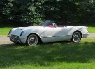 Corvettes on eBay: Auction for 1953 Corvette VIN 071 Ended Early