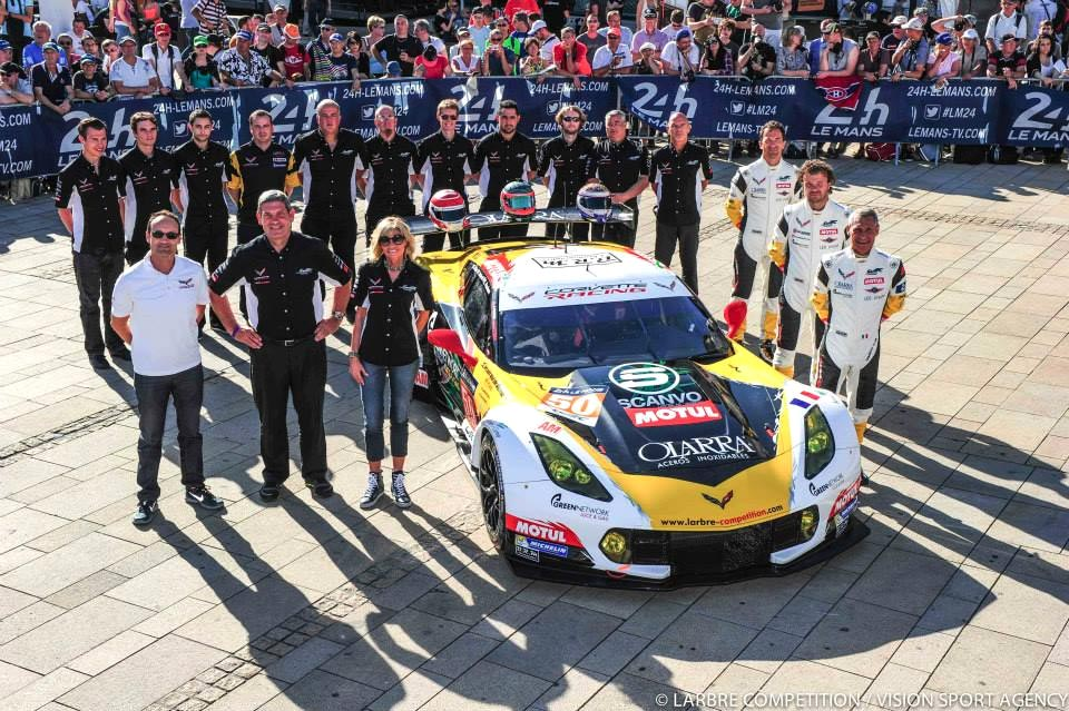 "Larbre Competition Campaigning the ""French American"" Corvette C7.R at Le Mans"