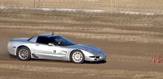 [VIDEO] RallyCross in a C5 Corvette Z06
