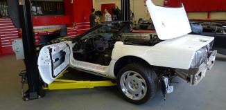 [PICS] General Motors Shows off Restoration Progress on the 1 Millionth Corvette