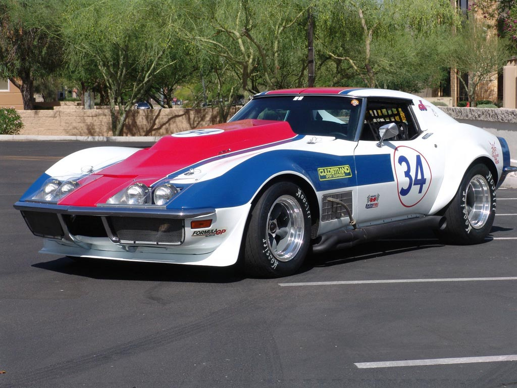 Corvettes on eBay: 1970 LS7 Corvette Racer