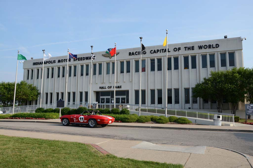 Vintage Corvette Racers at Indianapolis
