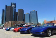 3rd Annual 'Corvettes in the D' Corvette Show