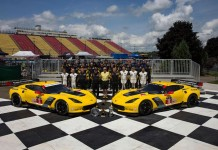 [PIC] Corvette Racing Celebrates their Triple Crown Wins